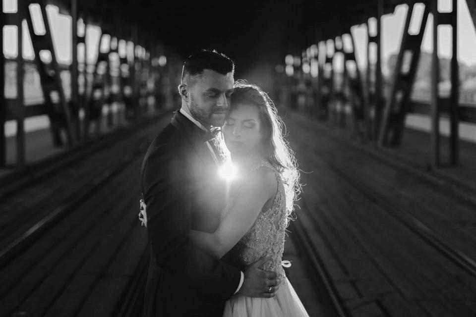 sesja ślubna most gdański