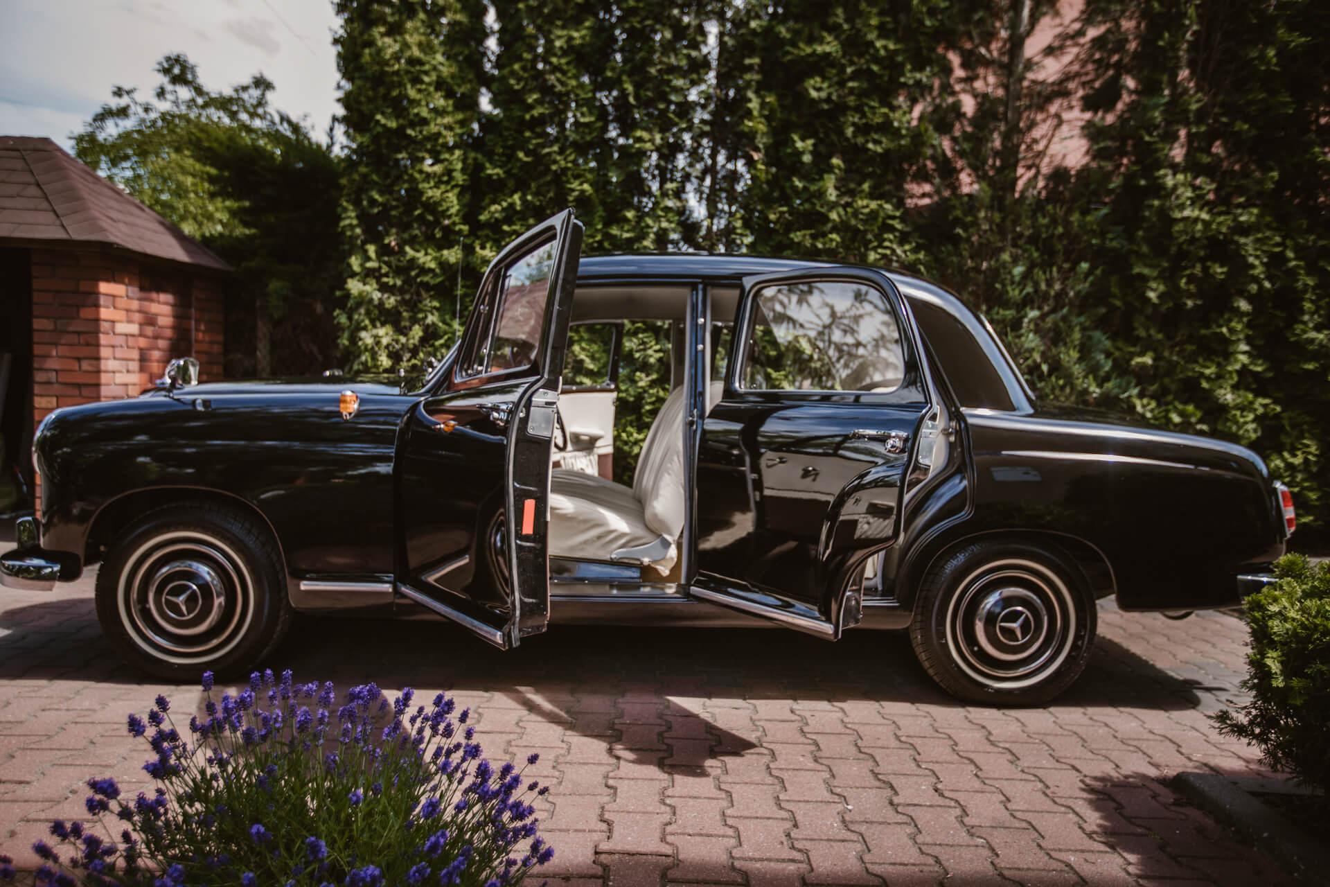 auto na ślub warszawa