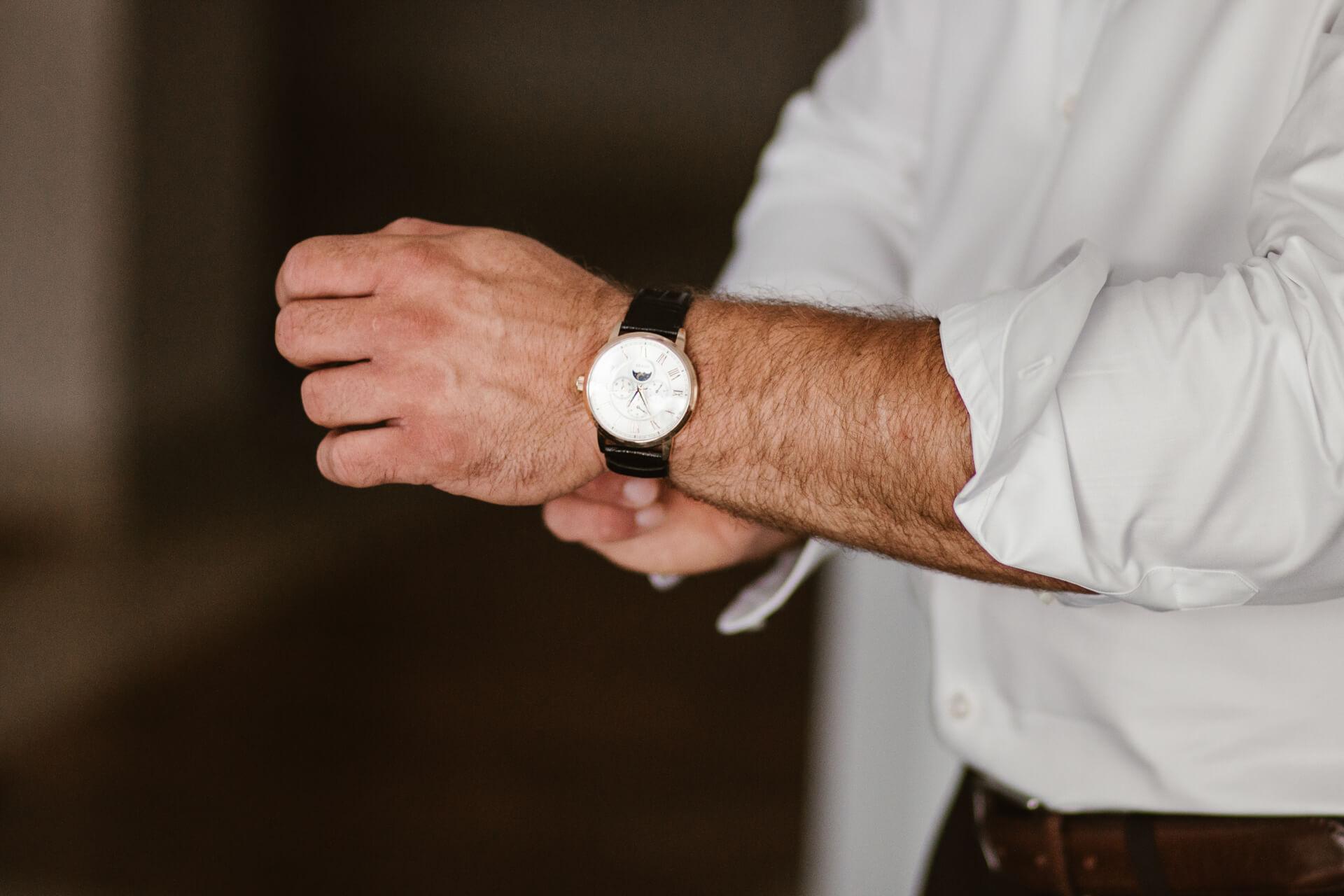 zegarek na wesele