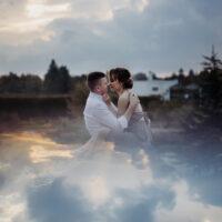 sesja ślubna w Powsinie